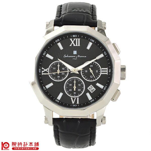 【ポイント最大24倍!9日20時より】【最安値挑戦中】サルバトーレマーラ SalvatoreMarra 替えベルト付き SM13107-SSBK [国内正規品] メンズ 腕時計 時計【あす楽】