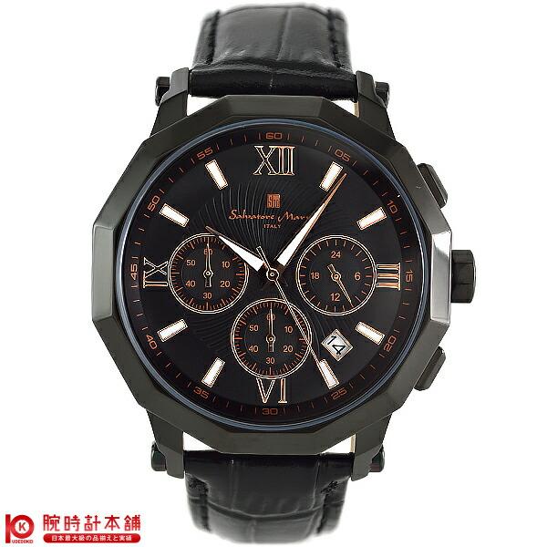 【最安値挑戦中】サルバトーレマーラ SalvatoreMarra 替えベルト付き SM13107-IPBKPG [国内正規品] メンズ 腕時計 時計【あす楽】