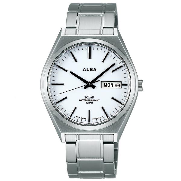 세이코아르바 ALBA 솔러 100 m방수 AEFD535 [정규품]맨즈 손목시계 시계