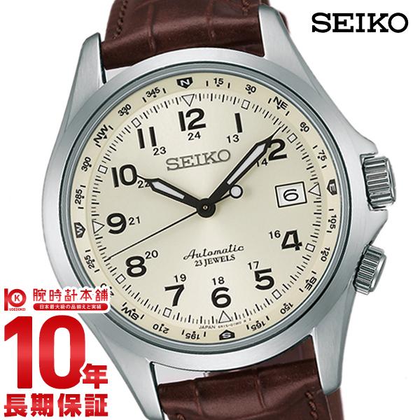 【2000円OFFクーポン配布!11日1:59まで!】 セイコー メカニカル MECHANICAL 10気圧防水 機械式(自動巻き) SARG005 [正規品] メンズ 腕時計 時計【24回金利0%】