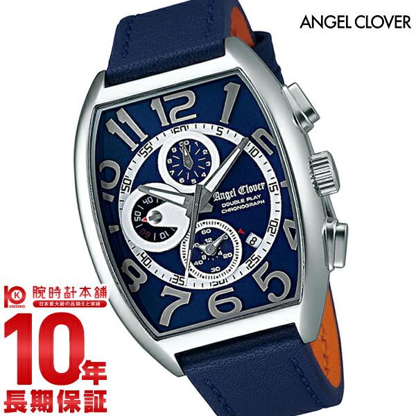 最大1200円割引クーポン対象店 エンジェルクローバー 時計 AngelClover ダブルプレイ DP38SNV-NV [正規品] メンズ 腕時計