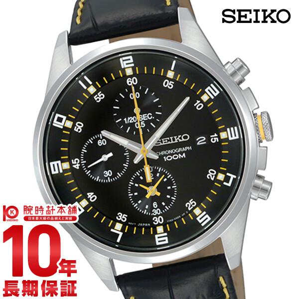 セイコー 逆輸入モデル SEIKO クロノグラフ 10気圧防水 SNDC89P2(SNDC89PD) [正規品] メンズ 腕時計 時計