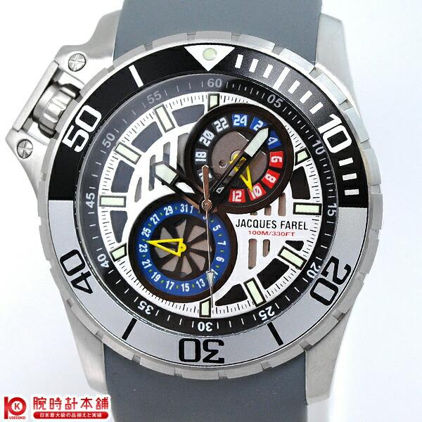 ジャックスファレル JACQUESFAREL グレー×マルチカラー AMC7777-RM [正規品] メンズ 腕時計 時計