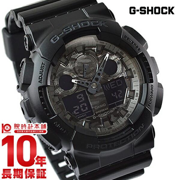 カシオ Gショック G-SHOCK Camouflage Dial Series GA-100CF-1AJF [正規品] メンズ 腕時計 時計(予約受付中)
