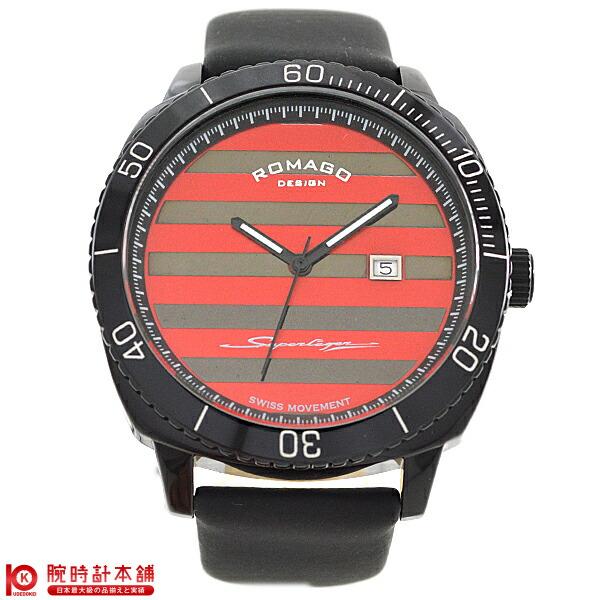 【ポイント最大24倍!9日20時より】ロマゴデザイン ROMAGODESIGN SUPERLEGER スーパーレジャー RM049-0371ST-BK [正規品] メンズ&レディース 腕時計 時計【あす楽】