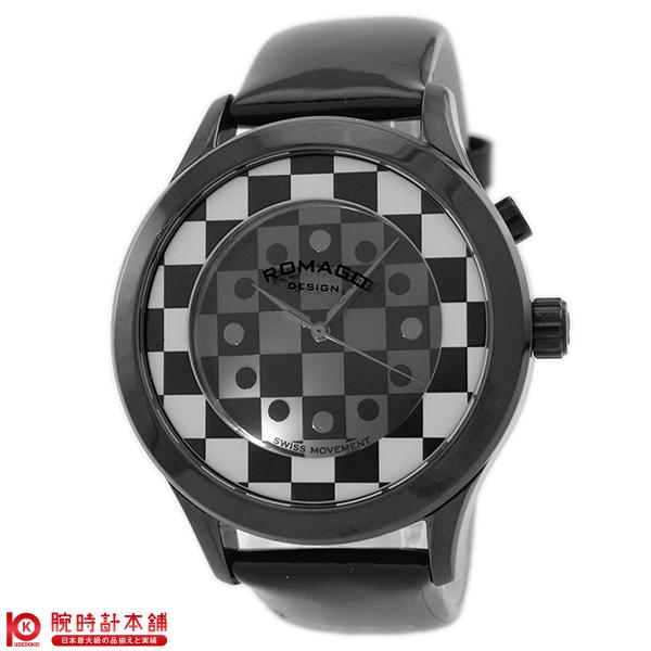 【3000円割引クーポン】ロマゴデザイン ROMAGODESIGN FASHIONCODE ファッションコード RM052-0314ST-BKWH [正規品] メンズ&レディース 腕時計 時計