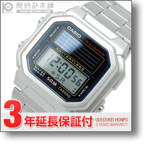 卡西欧CASIO太阳能AL-190WD-1AV人手表钟表