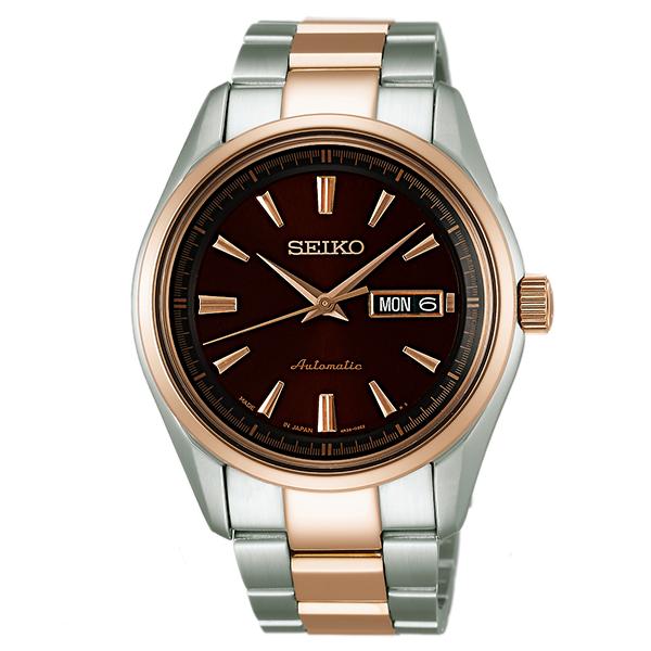 세이코프레자쥬 PRESAGE 100 m방수 기계식(자동감김) SARY056 [국내 정규품]맨즈 손목시계 시계