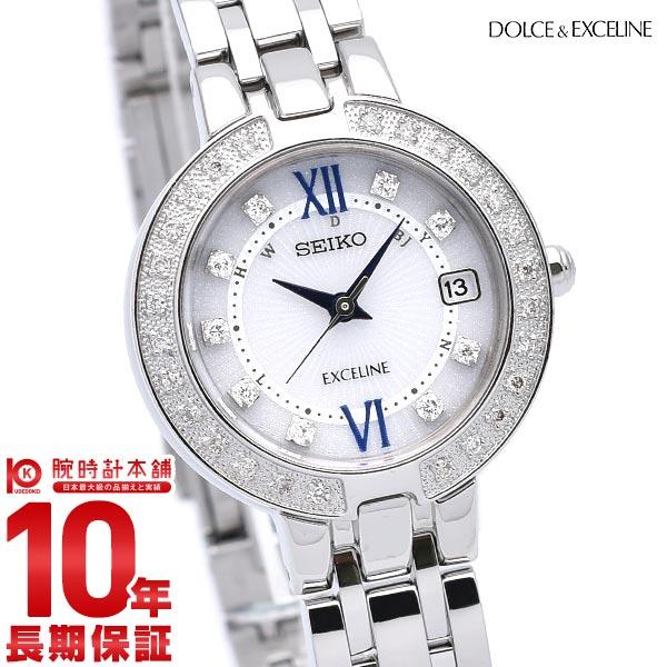 セイコー ドルチェ&エクセリーヌ DOLCE&EXCELINE ソーラー電波 10気圧防水 SWCW083 [正規品] レディース 腕時計 時計