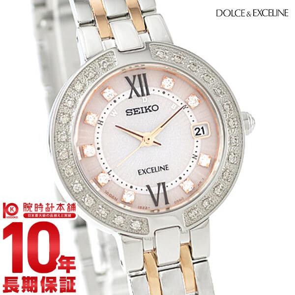 セイコー ドルチェ&エクセリーヌ DOLCE&EXCELINE ソーラー電波 10気圧防水 SWCW085 [正規品] レディース 腕時計 時計