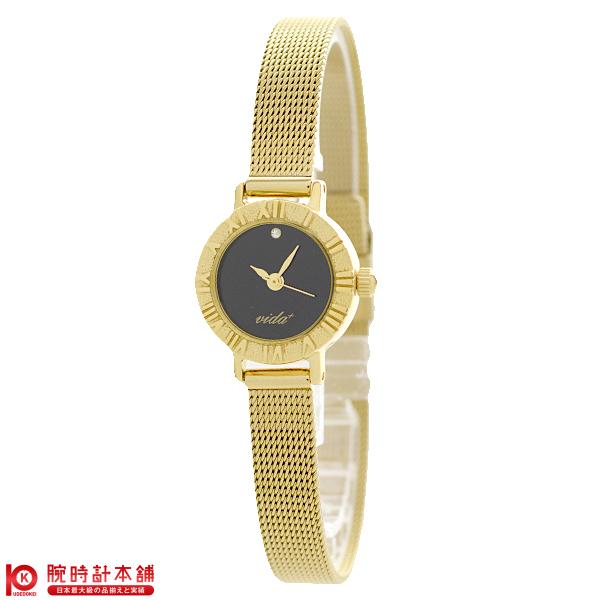 ヴィーダプラス VIDA+ V-005GD-BK [正規品] レディース 腕時計 時計【あす楽】