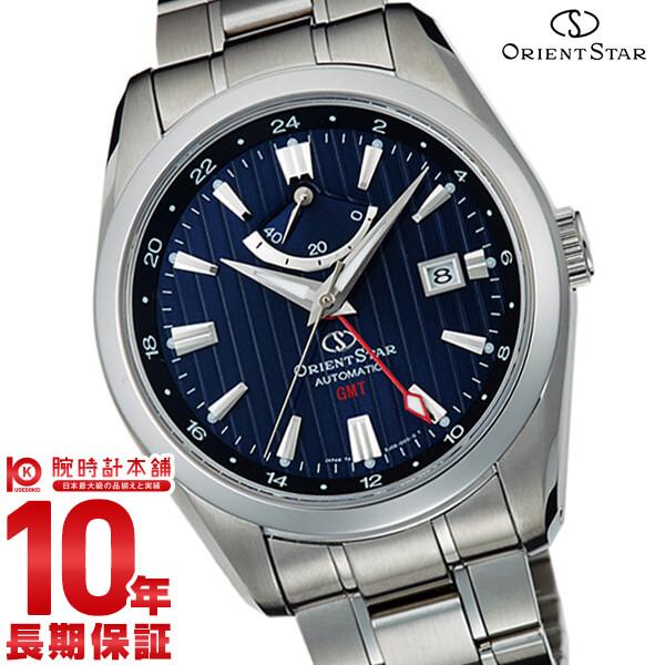 【2000円OFFクーポン配布!11日1:59まで!】 オリエントスター ORIENT ORIENTSTAR オリエントスター GMT 機械式 自動巻き (手巻き付き) ネイビー WZ0071DJ [正規品] メンズ 腕時計 時計