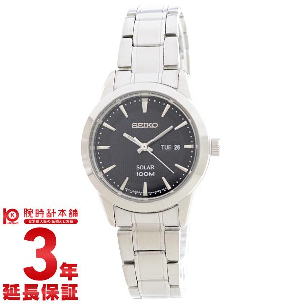 セイコー 逆輸入モデル SEIKO ソーラー 100m防水 SUT161P1 [海外輸入品] レディース 腕時計 時計