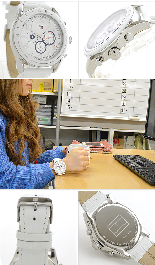 2850aae376 ... トミーヒルフィガー TOMMYHILFIGER 1781052  overseas import goods  Lady s watch  clock