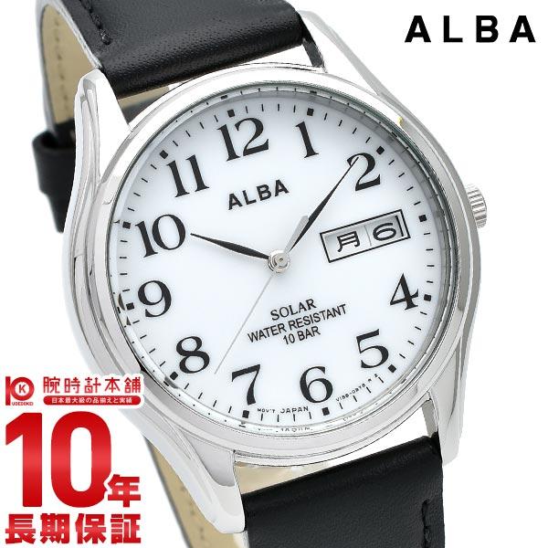 正規品 スーパーSALE開催中 最大2000円クーポン 限定タイムセール 店内最大ポイント54.5倍 11日1:59まで セイコー アルバ ALBA 時計 10気圧防水 公式ショップ 腕時計 あす楽 AEFD543 ソーラー メンズ