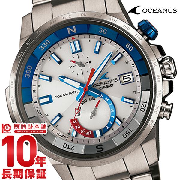 最大1200円割引クーポン対象店 カシオ オシアナス OCEANUS カシャロ 電波ソーラー OCW-P1000-7AJF [正規品] メンズ 腕時計 時計【36回金利0%】(予約受付中)