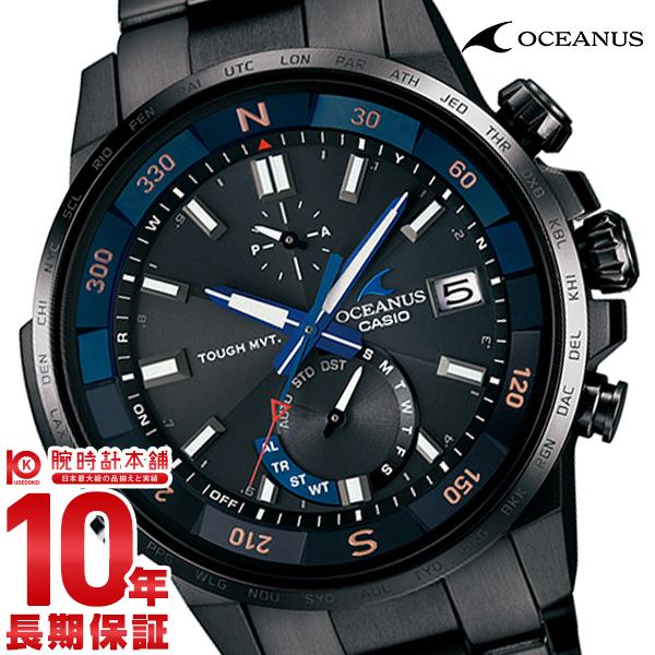 カシオ オシアナス OCEANUS カシャロ 電波ソーラー OCW-P1000B-1AJF [正規品] メンズ 腕時計 時計【36回金利0%】(予約受付中)