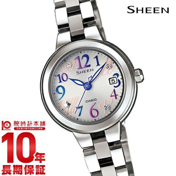 【店内最大37倍!28日23:59まで】カシオ シーン SHEEN ソーラー SHE-4506SBD-7A2JF [正規品] レディース 腕時計 時計(予約受付中)