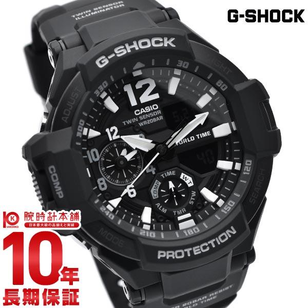 【店内ポイント最大43倍&最大2000円OFFクーポン!9日20時から】カシオ Gショック G-SHOCK スカイコックピット GA-1100-1AJF [正規品] メンズ 腕時計 時計