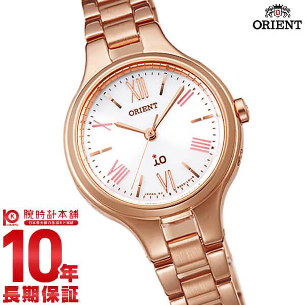 オリエント ORIENT イオ ナチュラル&プレーン ソーラー電波 ホワイト WI0141SD [正規品] レディース 腕時計 時計