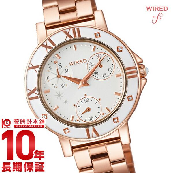 最大1200円割引クーポン対象店 セイコー ワイアードエフ WIREDf トーキョーガールミックス クロノグラフ AGET401 [正規品] レディース 腕時計 時計