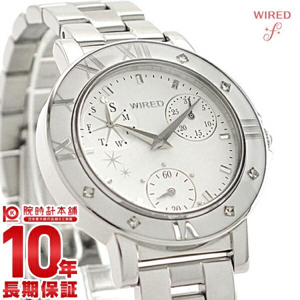 セイコー ワイアードエフ WIREDf トーキョーガールミックス クロノグラフ AGET403 [正規品] レディース 腕時計 時計【あす楽】
