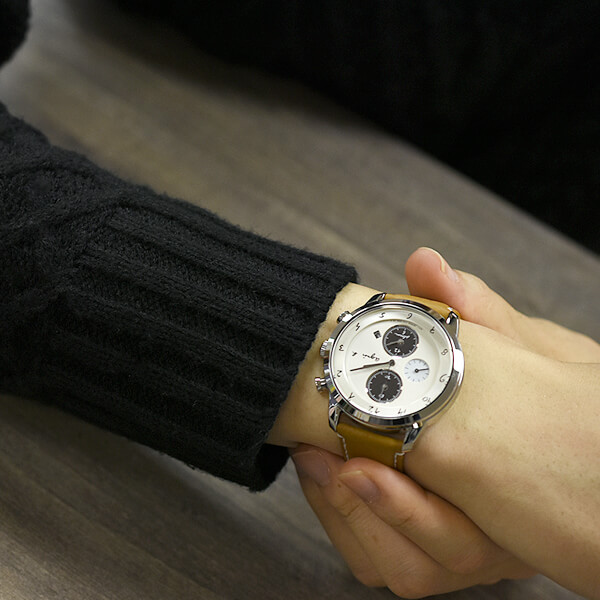 Agnès agnesb Marcello chronograph solar FBRD973 mens