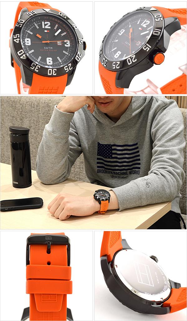 토미힐피거 TOMMYHILFIGER 1790985 [해외 수입품]맨즈 손목시계 시계
