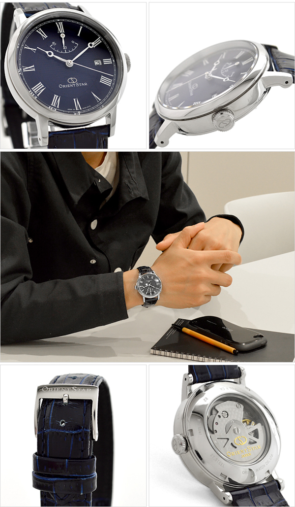 Orient star ORIENT Orient star elegant classic WZ0331EL men's watch watches