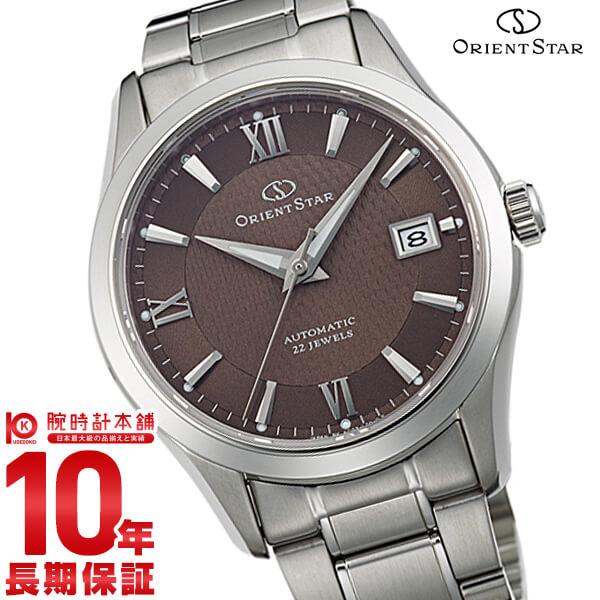 オリエントスター ORIENT ORIENTSTAR オリエントスター スタンダード 機械式 自動巻き (手巻き付き) アッシュブラウン WZ0031AC [正規品] メンズ 腕時計 時計【24回金利0%】