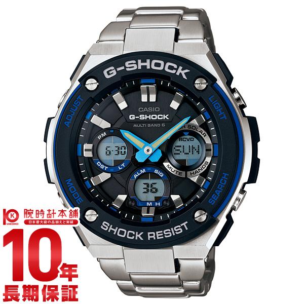 カシオ Gショック G-SHOCK Gスチール ソーラー電波 GST-W100D-1A2JF [正規品] メンズ 腕時計 時計【24回金利0%】