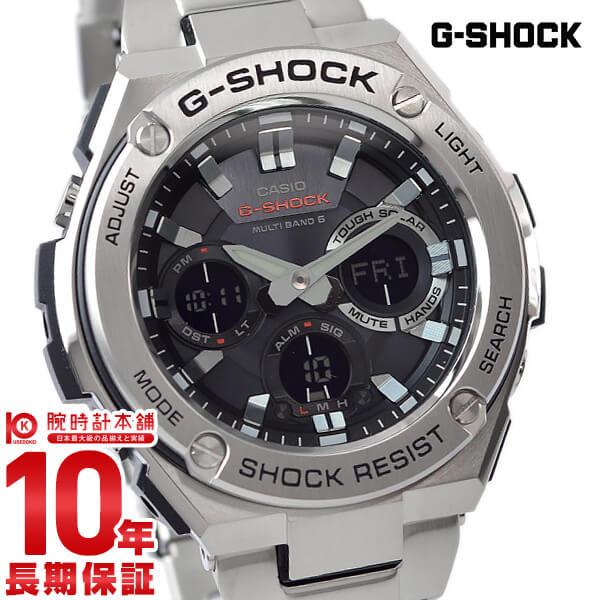 カシオ Gショック G-SHOCK Gスチール ソーラー電波 GST-W110D-1AJF [正規品] メンズ 腕時計 時計【24回金利0%】