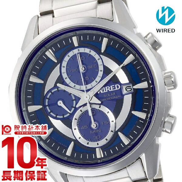 【店内ポイント最大43倍&最大2000円OFFクーポン!9日20時から】セイコー ワイアード WIRED ソーラー アポロ 10気圧防水 AGAD060 [正規品] メンズ 腕時計 時計