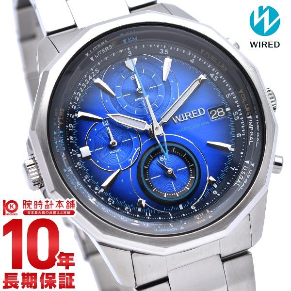 セイコー ワイアード WIRED ザ・ブルー 10気圧防水 AGAW439 [正規品] メンズ 腕時計 時計