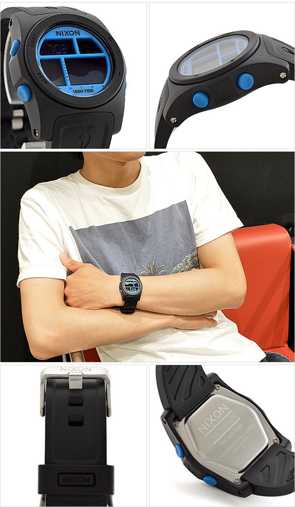 Nixon NIXON rhythm chronograph A385930 mens watch watches