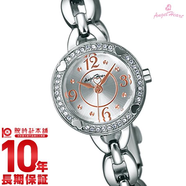 最大1200円割引クーポン対象店 エンジェルハート 腕時計 AngelHeart フォーハート シルバー スワロフスキー FH22SV [正規品] レディース 時計