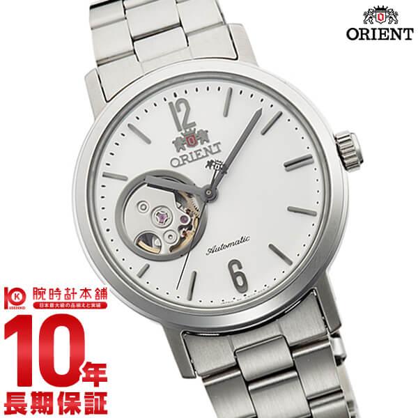 【ポイント最大27倍!9日20時より】オリエント ORIENT スタイリッシュ&スマート SEMI SKELETON-C 機械式 自動巻き ホワイト WV0431DB [正規品] メンズ&レディース 腕時計 時計
