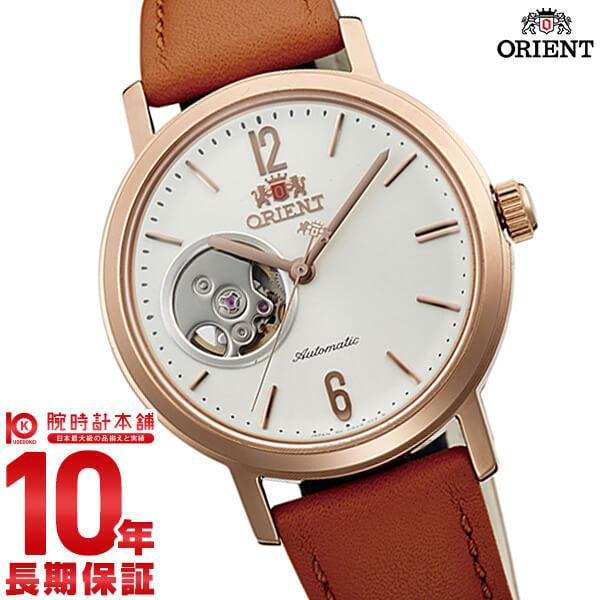 オリエント ORIENT スタイリッシュ&スマート SEMI SKELETON-C 機械式 自動巻き ナチュラルクリーム WV0461DB [正規品] メンズ&レディース 腕時計 時計