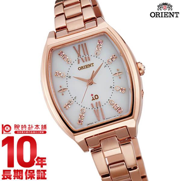 オリエント ORIENT イオ クリスマス限定 500本 ソーラー電波 ホワイト WI0201SD [正規品] レディース 腕時計 時計【24回金利0%】