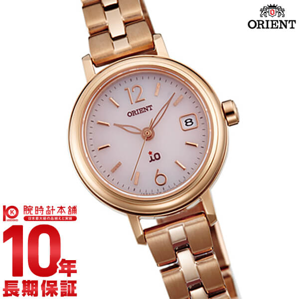 【ポイント最大25倍!9日20時より】オリエント ORIENT イオ NATURAL&PLAIN ソーラー ピンク WI0011WG [正規品] レディース 腕時計 時計