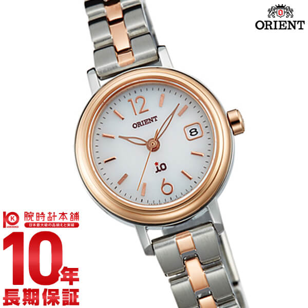 【ポイント最大29倍!9日20時より】オリエント ORIENT イオ NATURAL&PLAIN ソーラー ホワイト WI0021WG [正規品] レディース 腕時計 時計