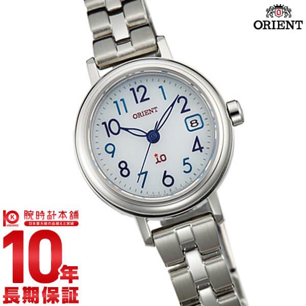 【ポイント最大29倍!9日20時より】オリエント ORIENT イオ NATURAL&PLAIN ソーラー ホワイト WI0031WG [正規品] レディース 腕時計 時計