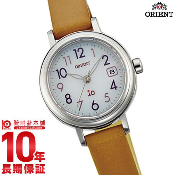 【ポイント最大29倍!9日20時より】オリエント ORIENT イオ NATURAL&PLAIN ソーラー ホワイト WI0051WG [正規品] レディース 腕時計 時計