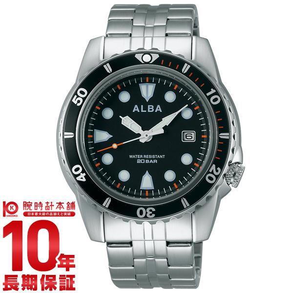 セイコー アルバ ALBA 20気圧防水 AQGJ401 [正規品] メンズ 腕時計 時計