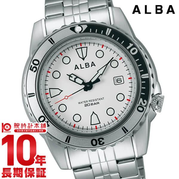セイコー アルバ ALBA 20気圧防水 AQGJ402 [正規品] メンズ 腕時計 時計