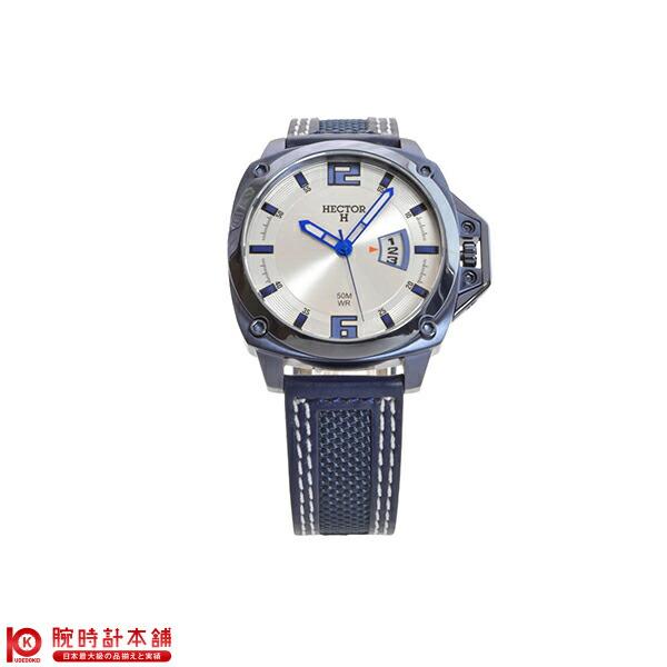 ヘクターエイチ HECTORH ヘリテージ ブルー×シルバー 665325 [正規品] メンズ 腕時計 時計