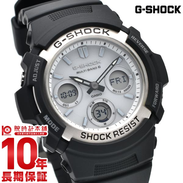 【店内ポイント最大43倍&最大2000円OFFクーポン!9日20時から】カシオ Gショック G-SHOCK ソーラー電波 AWG-M100S-7AJF [正規品] メンズ 腕時計 時計(予約受付中)