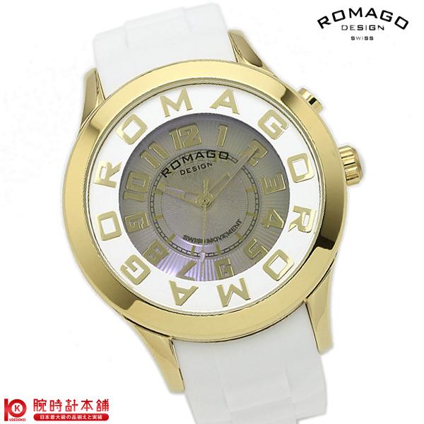 【3000円割引クーポン】ロマゴデザイン ROMAGODESIGN ATTRACTION アトラクション 日本限定モデル RM015-0162PL-GDWH [正規品] メンズ&レディース 腕時計 時計