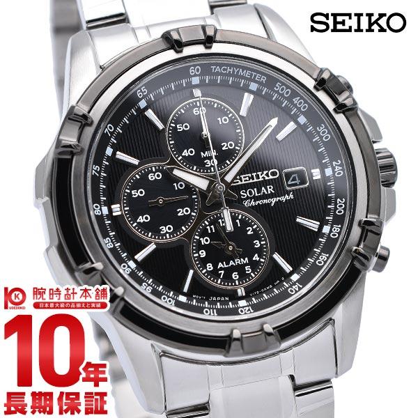 【店内ポイント最大43倍&最大2000円OFFクーポン!9日20時から】セイコー 逆輸入モデル SEIKO ソーラー 10気圧防水 SSC147P1 [正規品] メンズ 腕時計 時計【あす楽】