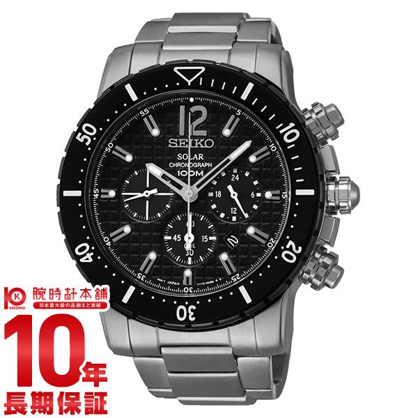 セイコー 逆輸入モデル SEIKO ソーラー 10気圧防水 SSC245P1 [正規品] メンズ 腕時計 時計【あす楽】